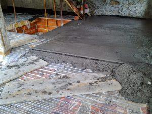 beton armat planseu