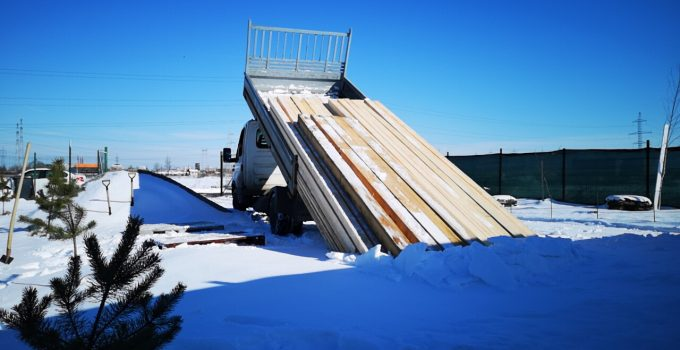Centrul Visul Luanei- lemn construcții