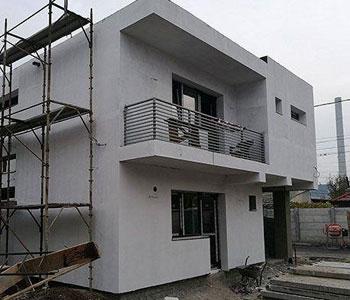 Firma constructii case la cheie for Casa moderna romania