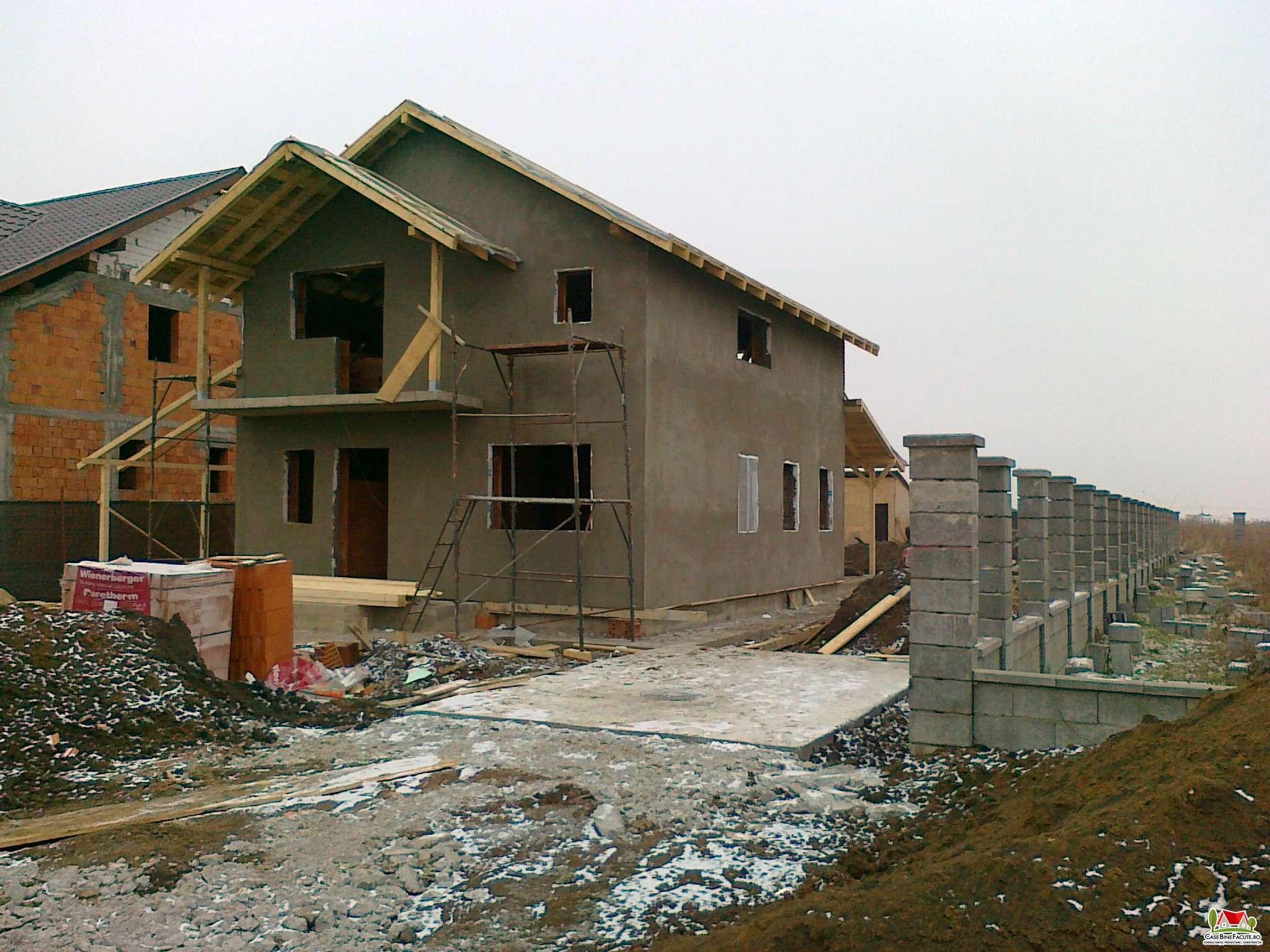 Constructie casa la gri Timisoara