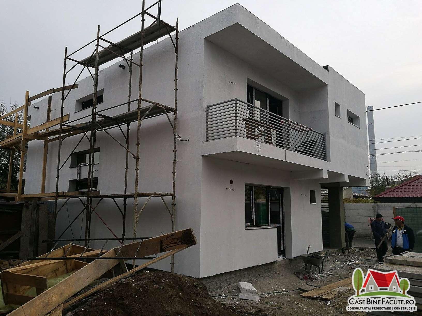 Constructie casa Bucuresti la cheie