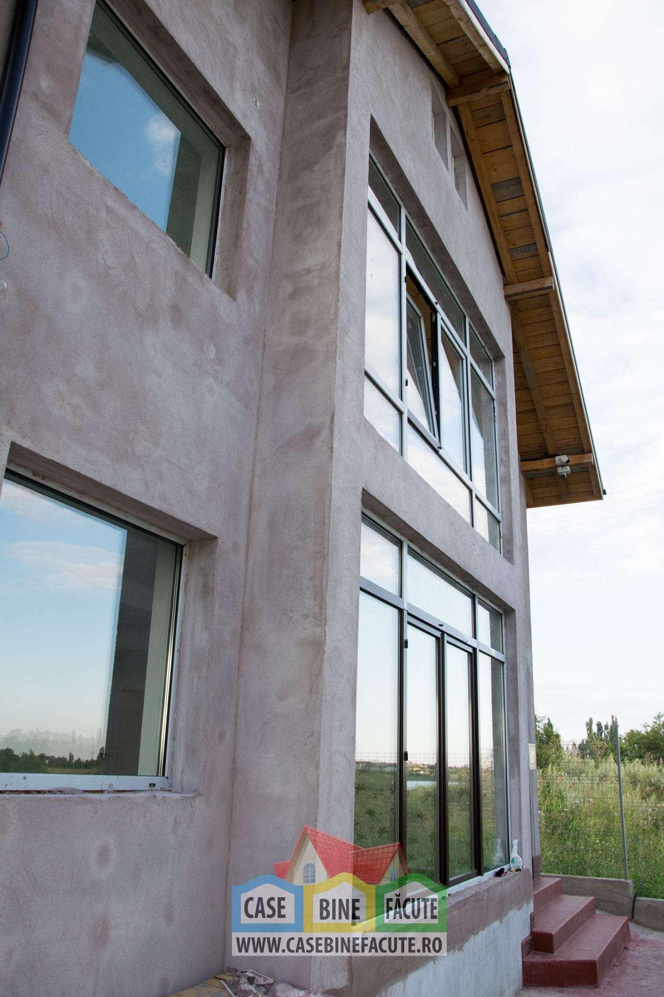 Constructie casa la gri Corbeanca