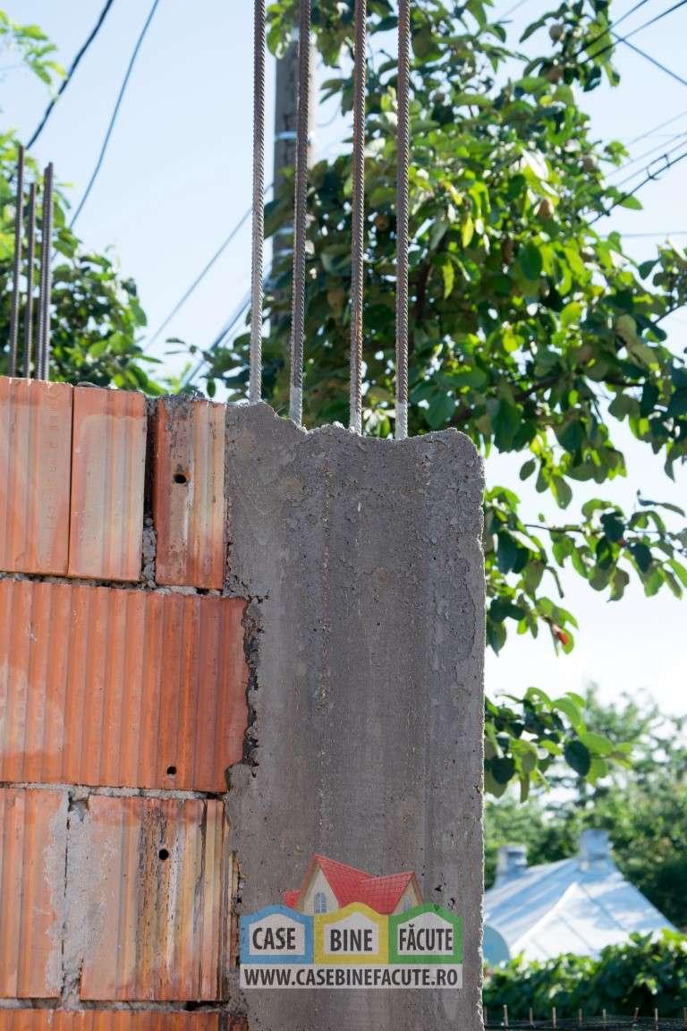 Constructie casa la rosu Bucuresti