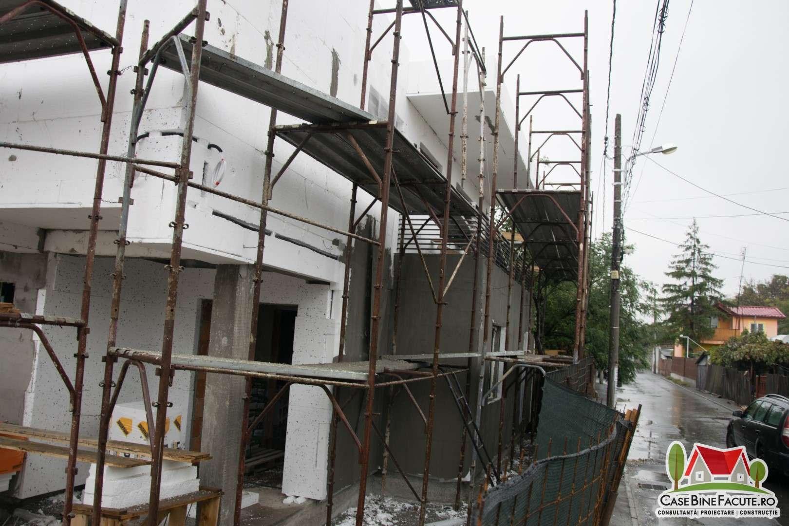 Constructie casa la gri Bucuresti