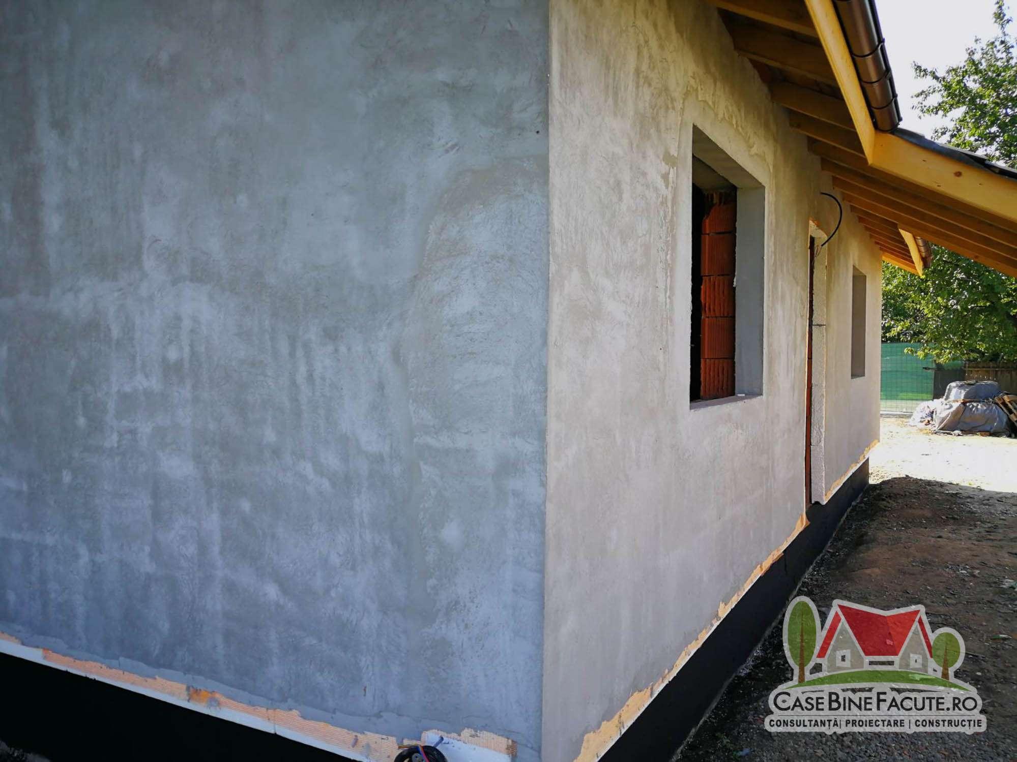 Constructie casa la gri Gradistea