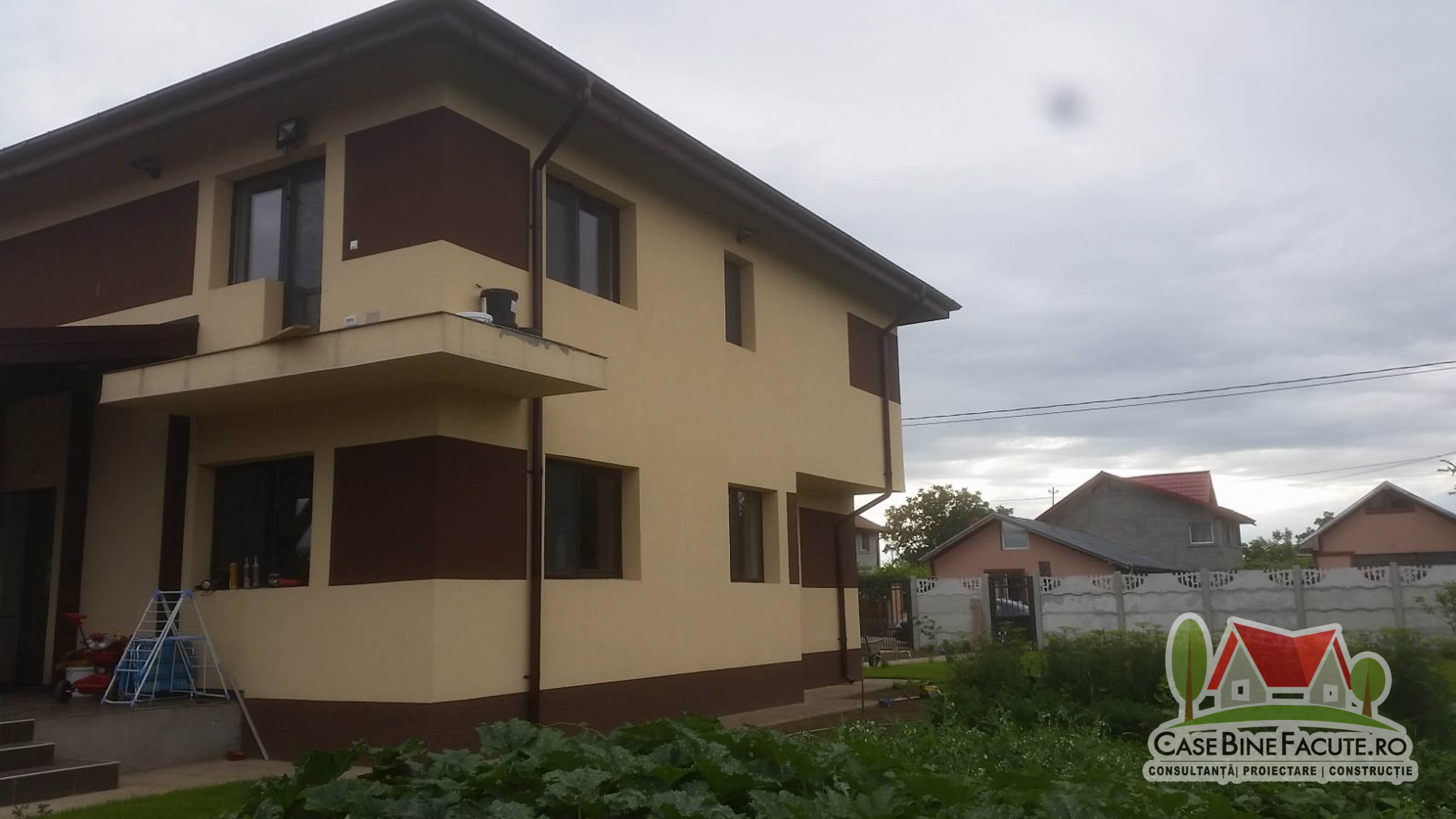 Construcție casă la cheie, Brănești