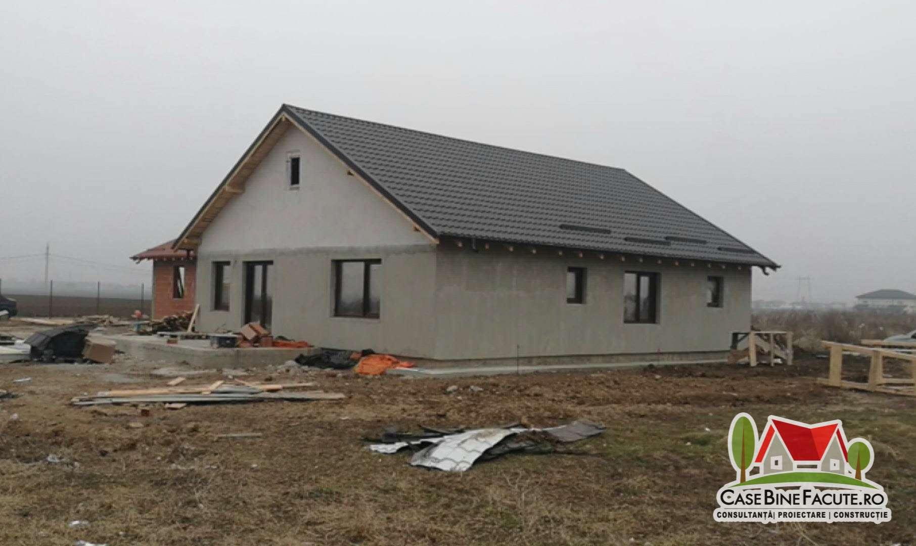 Construcție casa la gri Berceni