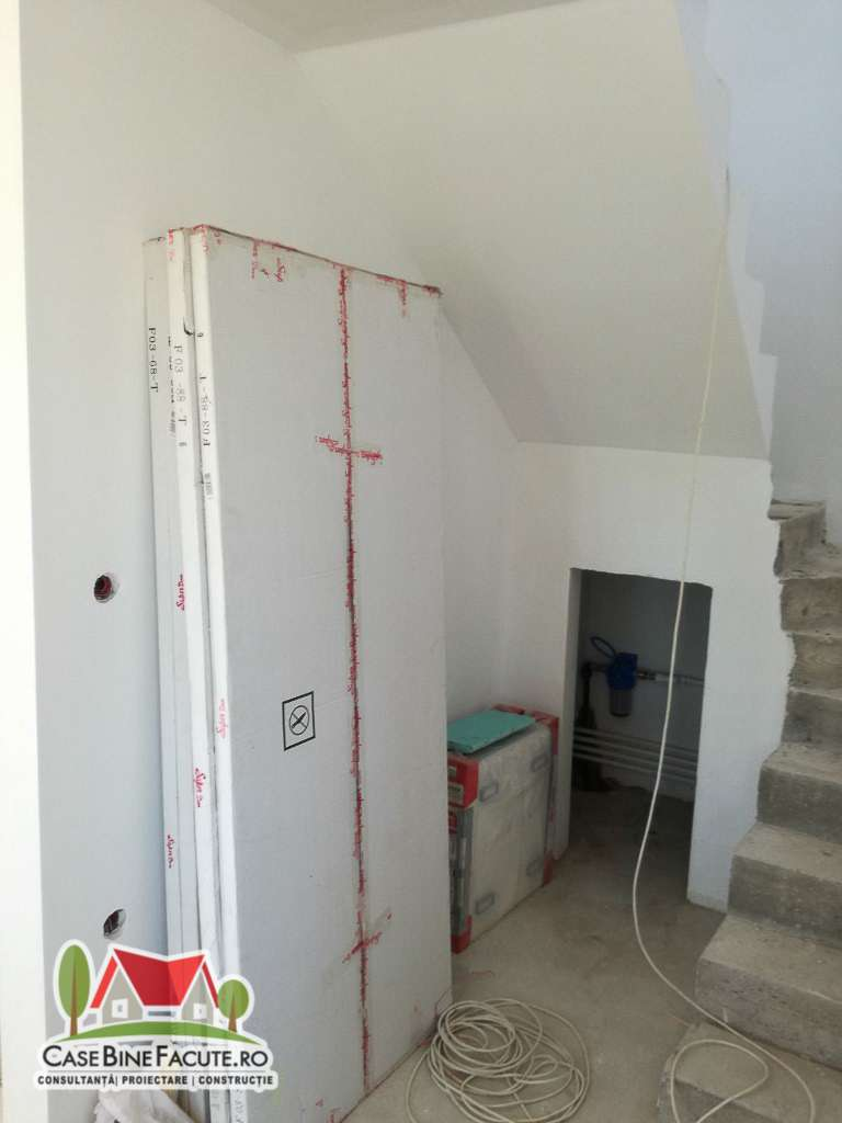 Constructie casa la gri Deta, Timis