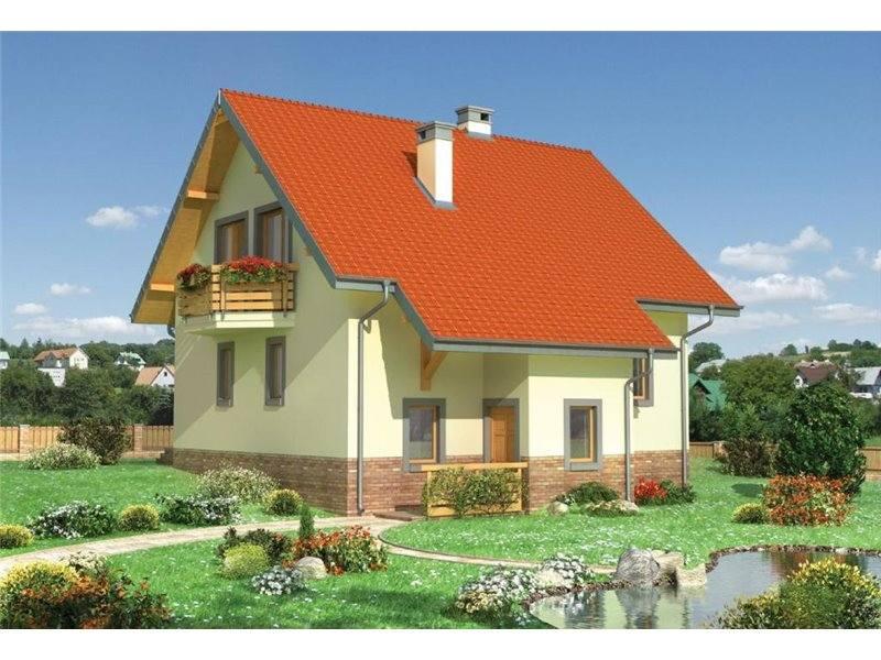 Proiecte Case - Proiect Casă de Vis, cu Mansardă, 162 mp, 6 Camere, 2 Băi, ID 5990