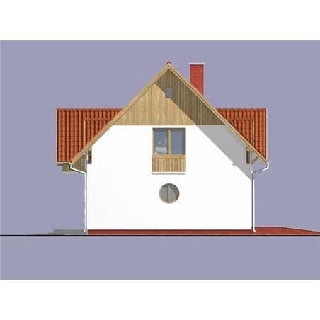 Proiecte Case - Proiect Casă de Lux, cu Mansardă, 201 mp, 4 Camere, 2 Băi, ID 5988