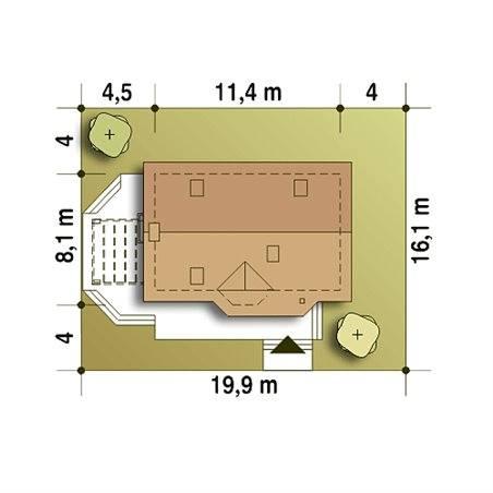Proiecte Case - Proiect Casă de Vis, cu Mansardă, 184 mp, 6 Camere, 2 Băi, ID 5965
