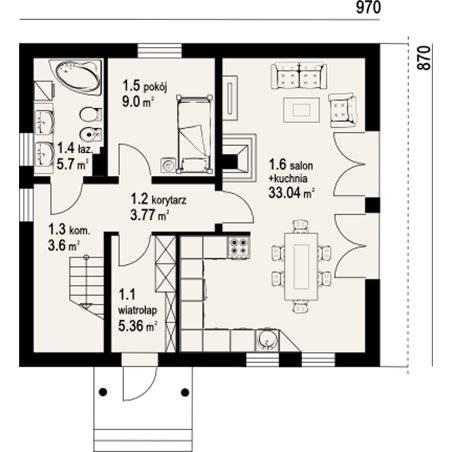 Proiecte Case - Proiect Casă de Vis, cu Mansardă, 168 mp, 6 Camere, 2 Băi, ID 5936