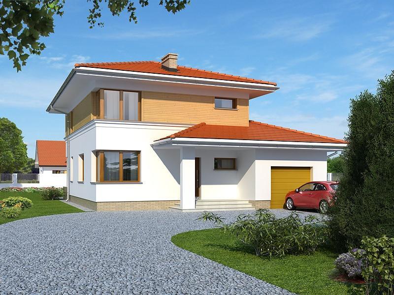 Proiect cas de vis cu etaj 188 mp 4 camere 2 b i id 6933 for Case de vis cu etaj