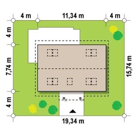 Proiecte Case - Proiect Casă de Vis, cu Mansardă, 175 mp, 6 Camere, 2 Băi, ID 1890