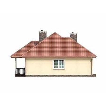 Proiecte Case - Proiect Casă Mică, cu Mansardă, 134 mp, 4 Camere, 2 Băi, ID 1798