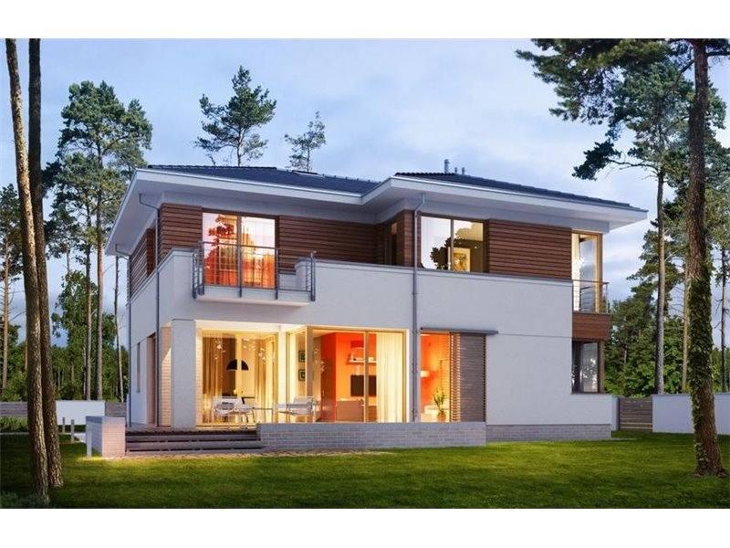 Proiect cas de lux cu etaj 225 mp 5 camere 3 b i id 6885 for Modele de case fara etaj cu terasa