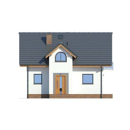 Proiecte Case - Proiect Casă Mică, cu Mansardă, 138 mp, 5 Camere, 2 Băi, ID 1531