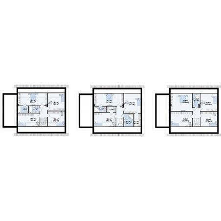 Proiecte Case - Proiect Casă de Vis, cu Mansardă, 172 mp, 8 Camere, 4 Băi, ID 1510