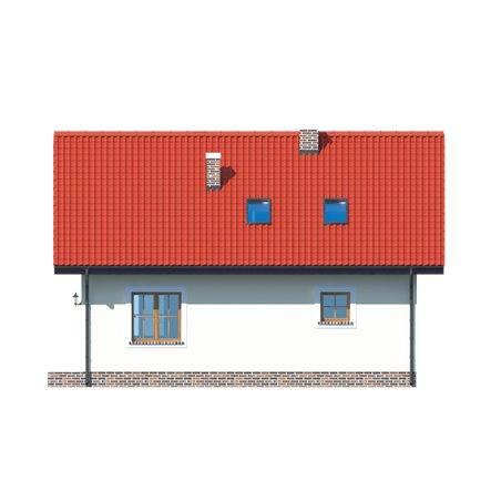 Proiecte Case - Proiect Casă Mică, cu Mansardă, 140 mp, 6 Camere, 2 Băi, ID 1493