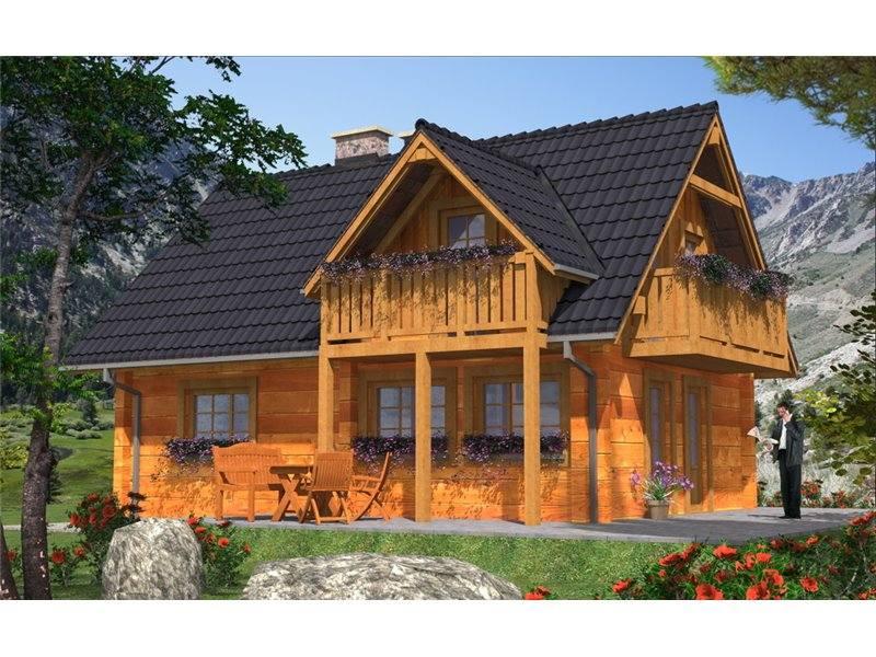 Proiecte Case - Proiect Casă Mică, cu Mansardă, 142 mp, 4 Camere, 2 Băi, ID 1487