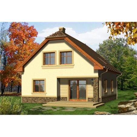 Proiecte Case - Proiect Casă de Lux, cu Mansardă, 201 mp, 6 Camere, 2 Băi, ID 1450
