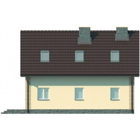 Proiecte Case - Proiect Casă Mică, cu Mansardă, 143 mp, 4 Camere, 3 Băi, ID 1415