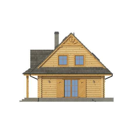 Proiecte Case - Proiect Casă de Vis, cu Mansardă, 166 mp, 6 Camere, 2 Băi, ID 1233
