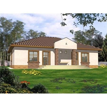 Proiecte Case - Proiect Casă Mică, cu Mansardă, 145 mp, 4 Camere, 3 Băi, ID 1213