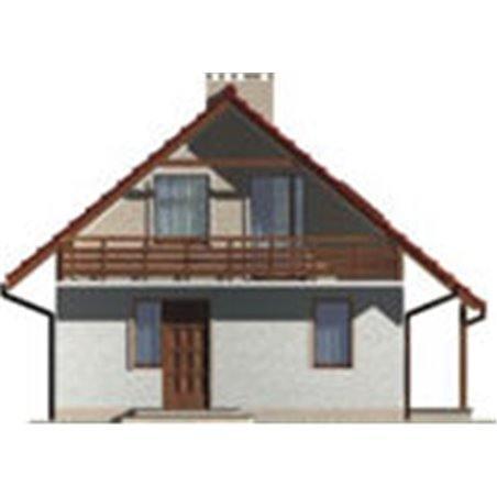 Proiecte Case - Proiect Casă Mică, Parter, 131 mp, 3 Camere, 2 Băi, ID 1212