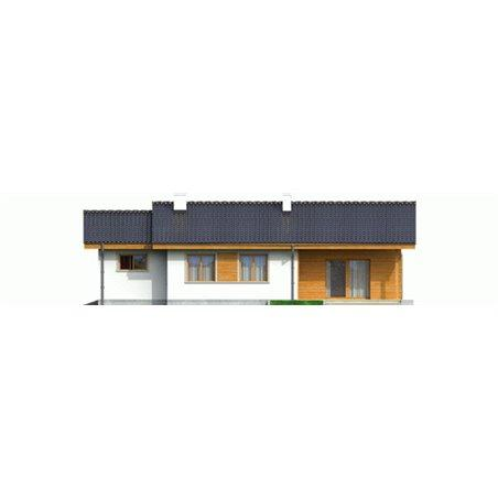 Proiecte Case - Proiect Casă Mică, Parter, 131 mp, 4 Camere, 2 Băi, ID 1029