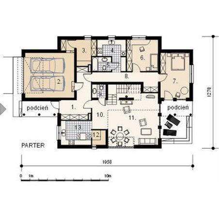 Proiecte Case - Proiect Casă de Vis, cu Mansardă, 162 mp, 7 Camere, 3 Băi, ID 1009