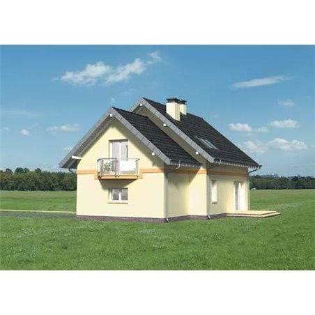 Proiecte Case - Proiect Casă de Lux, cu Mansardă, 200 mp, 5 Camere, 2 Băi, ID 927