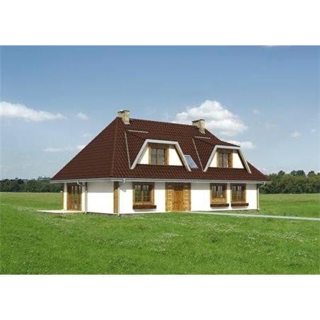Proiecte Case - Proiect Casă de Lux, cu Mansardă, 344 mp, 7 Camere, 7 Băi, ID 774