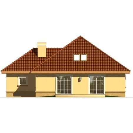 Proiecte Case - Proiect Casă de Vis, cu Mansardă, 187 mp, 6 Camere, 2 Băi, ID 762