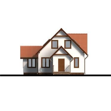 Proiecte Case - Proiect Casă Mică, cu Mansardă, 134 mp, 4 Camere, 2 Băi, ID 743