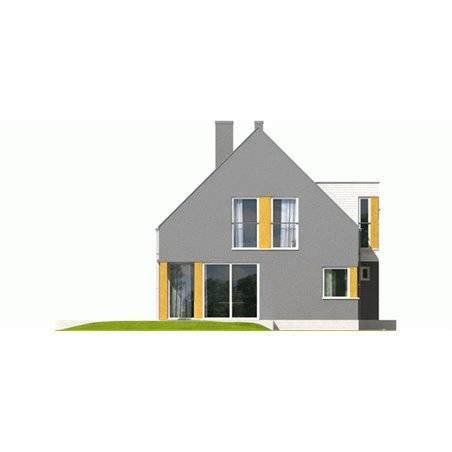 Proiecte Case - Proiect Casă de Lux, cu Mansardă, 200 mp, 5 Camere, 2 Băi, ID 713