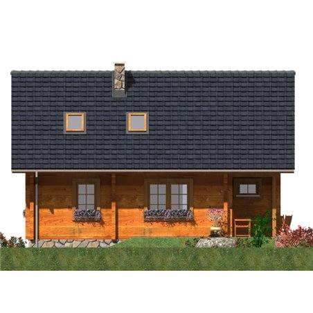 Proiecte Case - Proiect Casă de Vis, cu Mansardă, 160 mp, 6 Camere, 2 Băi, ID 651