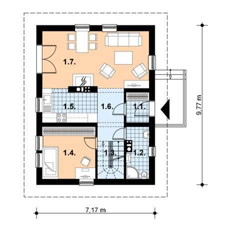Proiecte Case - Proiect Casă Mică, cu Mansardă, 134 mp, 4 Camere, 2 Băi, ID 643