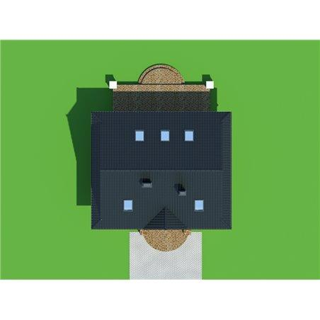 Proiecte Case - Proiect Casă de Vis, cu Mansardă, 181 mp, 6 Camere, 2 Băi, ID 595