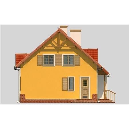 Proiecte Case - Proiect Casă de Vis, cu Mansardă, 152 mp, 4 Camere, 2 Băi, ID 6793