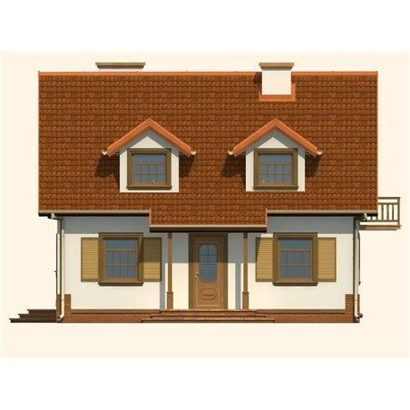Proiecte Case - Proiect Casă de Vis, cu Mansardă, 170 mp, 6 Camere, 2 Băi, ID 534