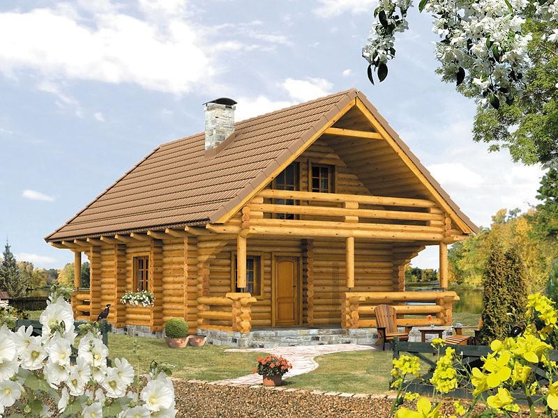 Proiecte Case - Proiect Casă Mică, cu Mansardă, 121 mp, 3 Camere, 2 Băi, ID 441