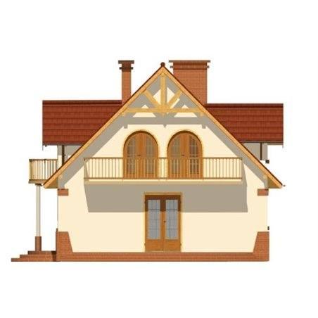 Proiecte Case - Proiect Casă Mică, cu Mansardă, 148 mp, 6 Camere, 2 Băi, ID 436