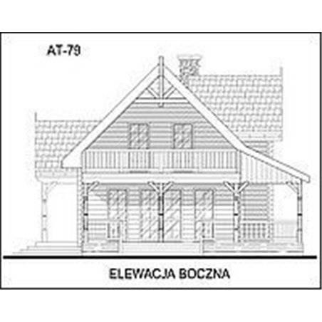 Proiecte Case - Proiect Casă Mică, cu Mansardă, 143 mp, 5 Camere, 2 Băi, ID 419