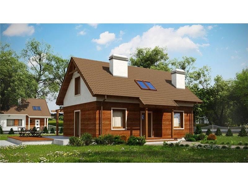 Proiecte Case - Proiect Casă Mică, cu Mansardă, 142 mp, 4 Camere, 2 Băi, ID 416
