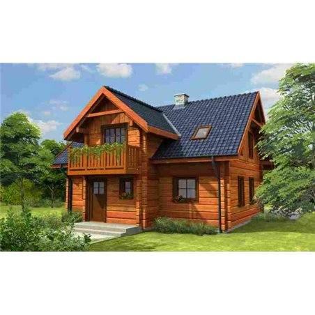 Proiecte Case - Proiect Casă de Vis, cu Mansardă, 187 mp, 6 Camere, 2 Băi, ID 412