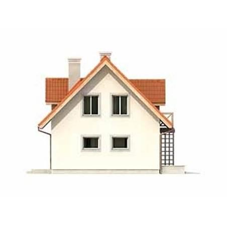 Proiecte Case - Proiect Casă de Lux, cu Mansardă, 200 mp, 4 Camere, 2 Băi, ID 409