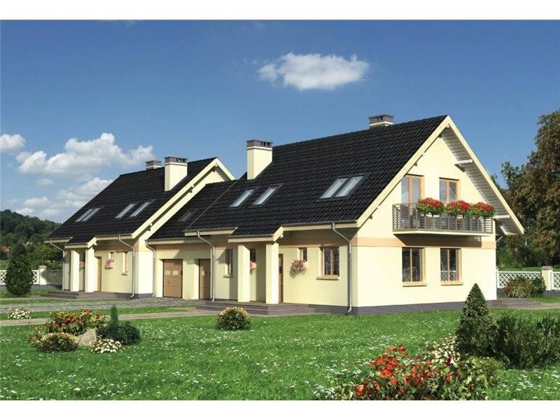Proiecte Case - Proiect Casă de Lux, cu Mansardă, 200 mp, 5 Camere, 2 Băi, ID 401