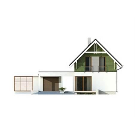 Proiecte Case - Proiect Casă Mică, cu Mansardă, 133 mp, 4 Camere, 2 Băi, ID 380