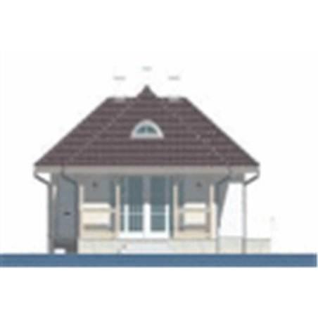 Proiecte Case - Proiect Casă Mică, cu Mansardă, 134 mp, 4 Camere, 2 Băi, ID 361